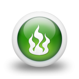 File 3d Glossy Green Orb Icon Natural Wonders Fire Png Primus Database