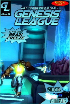 ISSUE 8 - BRAIN FREEZE