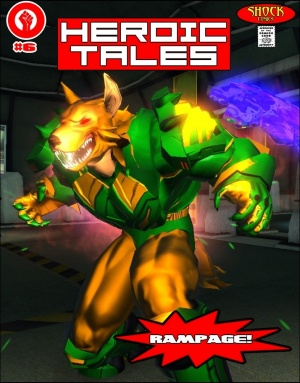 ISSUE 6 - RAMPAGE!!