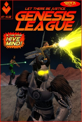 ISSUE 7 - HIVE MIND!